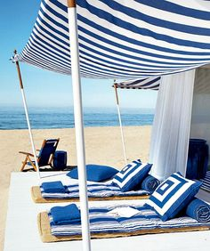 Bring a Beach Cabana to the Backyard for the Ultimate Lounging Experience http://beachblissliving.com/bring-a-beach-cabana-to-the-backyard-for-the-ultimate-lounging-experience/