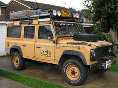 Land Rover Discovery Camel Trophy