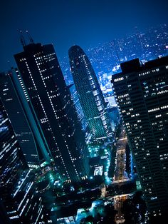 Japan Outtakes: Shinjuku night scene by miemo, via Flickr