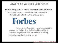 Edward de Valle    Great abilities of innovative ideas