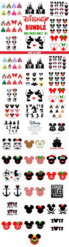 Disney Svg Bundle Svg Dxf Bundle Dxf in SVG DXF formats svg file dxf file for Silhouette Files for Cricut Files Cut Files Download includes the following file formats: SVG Files-DXF Files PLEASE NOTE: Font in this bundle are not for a library font file, I.E. OTF (Open Type) or