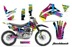 Kawasaki KLX140 Graphics Kit 2008-2013
