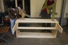 Excellent & Easy Garden Storage Bench : 16 Steps (with Pictures) - Instructables Garden Storage Bench, Diy Bench, Diy Storage, Wood Projects, Projects To Try, Pallet Sofa, Easy Garden, Backyard Landscaping, Outdoor Decor