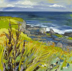 Rock Pools between Portrush and Portstew by Judith I Bridgland | Duncan R. Miller Fine Arts