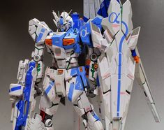 Custom Build: MG 1/100 nu Gundam Ver. Ka + Armed Armor DE [Kowloon] - Gundam Kits Collection News and Reviews