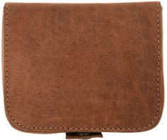 Gusti Leder 'Carter' Genuine Leather Coin Pouch