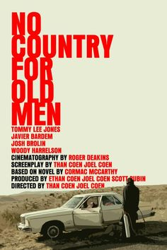 No Country for Old Men - movie poster: