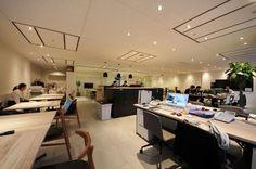 オフィスデザイン実績~開放感に溢れた、フレキシブルに働ける魅せるオフィス