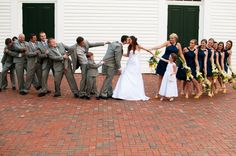 a friend's wedding kiss picture - very cute