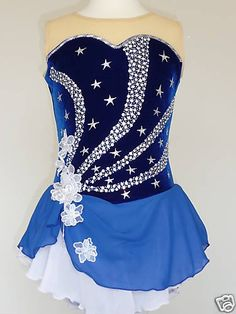 CUSTOM MADE TO FIT, TWIRLING BATON/ ICE SKATING DRESS