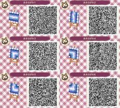 Find images and videos about acnl and qr codes on We Heart It - the app to get lost in what you love. Future Islands, Tumblr App, New Animal Crossing, New Leaf, Blog, Coding, Pattern, Animals, Qr Codes