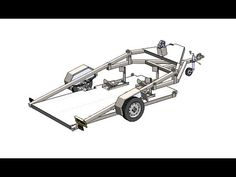 Motorcycle Trailer, Bike Trailer, Utility Trailer, Motorcycle Bike, Trailer Suspension, Trailer Wiring Diagram, Expedition Trailer, Metal Shaping, Off Road Trailer