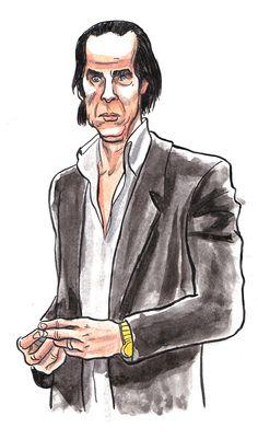 #Nick Cave #JubileeStreet #ThomasCrayon  https://lesinusables.wordpress.com  Illustrations et courts textes sur les morceaux que je passe en boucles d'oreilles depuis des années. Venez jeter un œil!