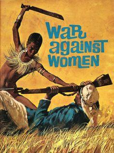 box-o-paperbacks:  War Against Women - Robert McGinnis, 1965