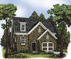 House Plan 72624 | Plan with 2274 Sq. Ft., 4 Bedrooms, 4 Bathrooms, 1 Car Garage