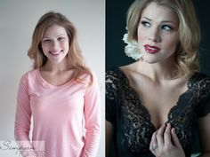 Glamour Photography Before/After