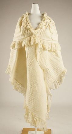 18th century french linen wrap
