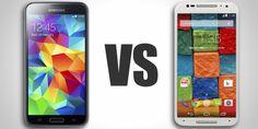 Moto X (2014) vs Samsung Galaxy S5 - Display, specs, price comparison
