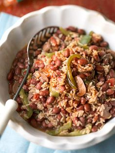 Try it for Mardi Gras! Red beans Creole is a classic New Orleans specialty.