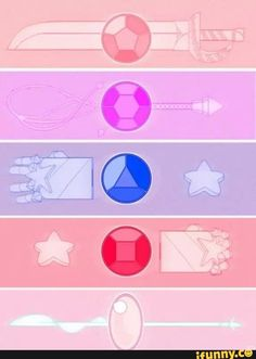 """hunkymanslave: """" A Steven universe print for Nova. It will probably be in size :) tiny and cute. I know its not super exciting but I think its rather sweet/cute. (also I think I dun goofed on ruby. Steven Universe Diamond, Steven Universe Tattoos, Steven Universe Movie, Universe Art, Steven Universe Weapons, Steven Universe Wallpaper, Cartoon Network, Steven Univese, Force Of Evil"""