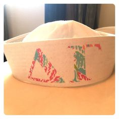 Delta Gamma sailor hat Handmade Delta Gamma sailor hat! Only worn once. Accessories Hats