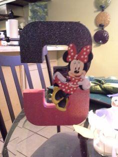 Girls third 3rd birthday mickey minnie mouse