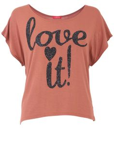 Love it Crop Top - Womens Clothing Sale, Womens Fashion, Cheap Clothes Online | Miss Rebel
