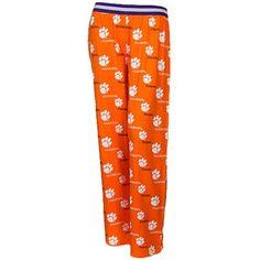 Clemson Tigers Ladies Prospect Pajama Pants - Orange#Fanatics