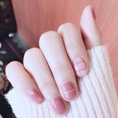 I can't resist the temptation of pink  #pink #nails #art #nailart #pink