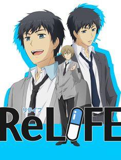 Anunciado mas reparto y artistas de opening y ending del Anime ReLIFE.