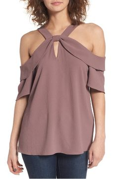 Main Image - Leith Ruffle Off the Shoulder Top