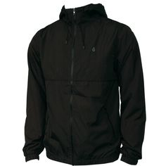 Volcom Mens Jacket Swisher Black
