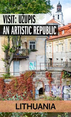 In Lithuania's captial, Vilnius, an artistic community has declared itself to be an independent republic. Here's what to expect when you visit Užupis. Backpacking Europe, Europe Travel Guide, Travel Guides, Travelling Europe, Lithuania Travel, Poland Travel, Italy Travel, Croatia Travel, Thailand Travel