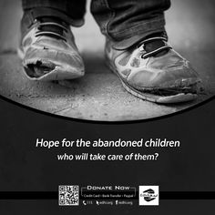 #Hope for the #Abandoned #Children  Or Visit http://edhi.org/