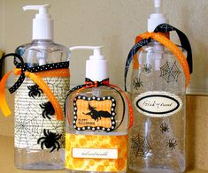 Halloween sanitizer gift