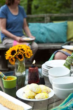 Outdoor Dining under the stars with In My Own Style