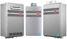Rheem tankless gas water heaters: Probably the best choice if you want a hassle-free instant water heater that will give you hot water whenever you want without needing a repair every other day and one that does not take a fortune to install.