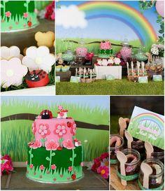 Garden Party Full of Ideas via Kara's Party Ideas