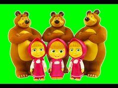 Маша и Медведь открывают сюрприз яйца Masha i Medved open surprise eggs ...