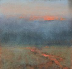 Artist: Nancy Bush - Title: Foggy Evening