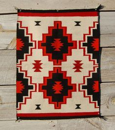 Native American Indian Blanket Fabric Brick Red 30