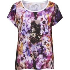 ONLY Flower Detailed Short Sleeved Blouse and other apparel, accessories and trends. Browse and shop related looks.