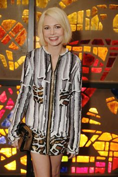 Party On in Miami - Michelle Williams attends Louis Vuitton's celebration of Pierre Paulin's Playing with Shapes