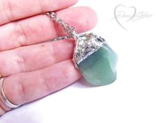Hey, I found this really awesome Etsy listing at https://www.etsy.com/listing/267732961/raw-aventurine-necklace-green-aventurine