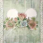 Scrapbooking Kits **New Stock Added – Craftables Scrapbook Designs, Scrapbooking Layouts, Travel Scrapbook, Scrapbook Cards, Succulents Garden, Succulent Ideas, Making Greeting Cards, Paper Crafts, Shabby Chic