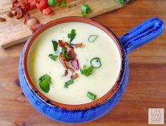 Potato Leek and Bacon Soup | by Life Tastes Good