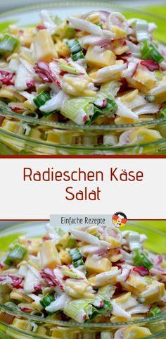 Easy Snacks, Easy Healthy Recipes, Easy Meals, Spaghetti Salad, Pasta Salad, Cheese Salad, Desert Recipes, Food Porn, Brunch