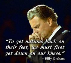 Our nation must turn back to GOD!