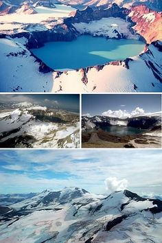 Mount Katmai in Alaska Katmai National Park, American National Parks, Crater Lake, Art Of Living, Natural Wonders, Cant Wait, Monuments, Mother Earth, Arctic