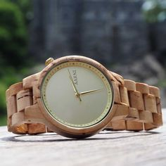 Aarni Wooden Watches | XO - Curly Birch